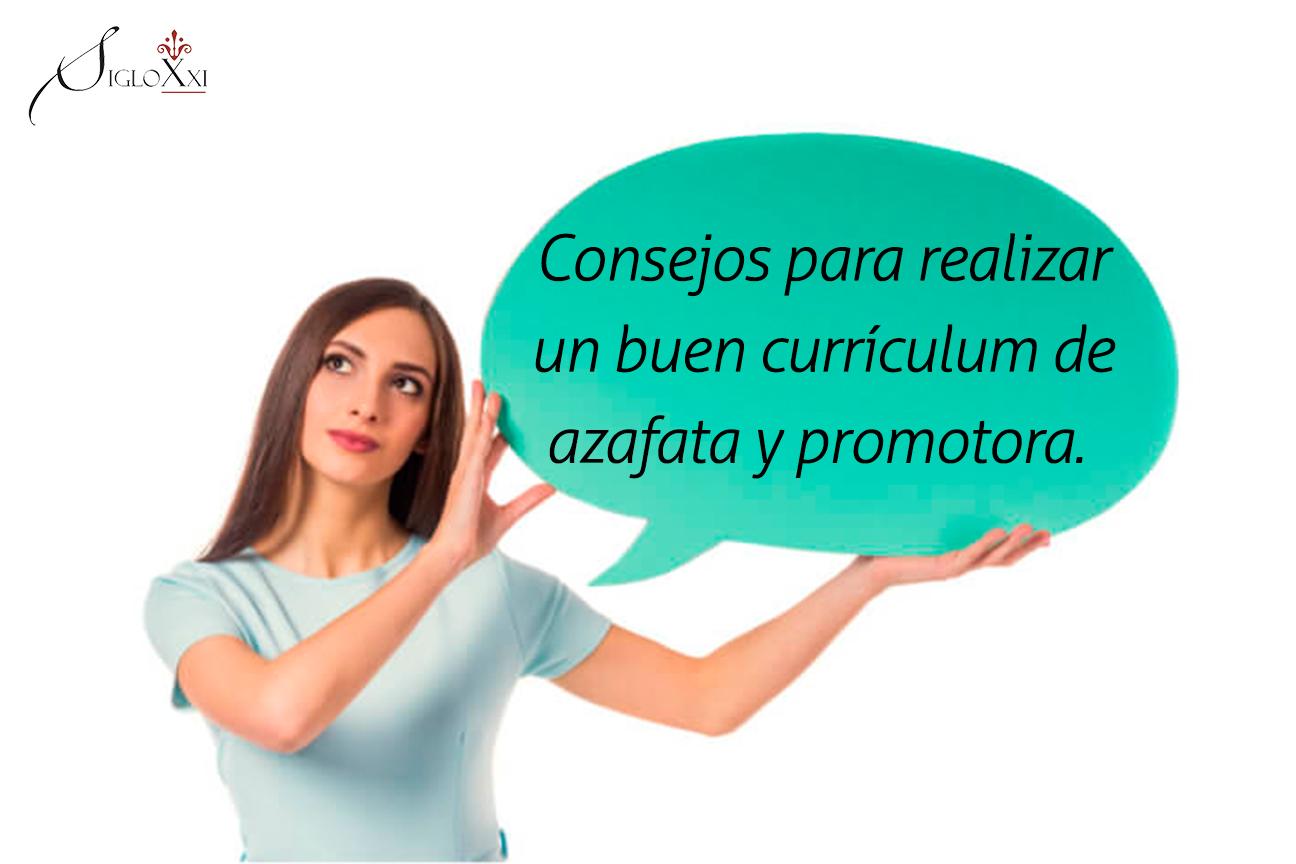 Consejos Para Realizar Un Buen Currículum De Azafata Y Promotora